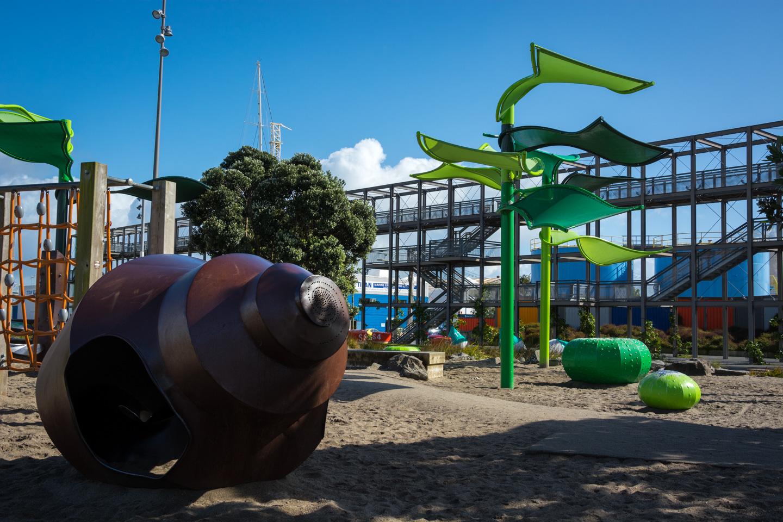 Auckland – Wynyard Quarter – Silo Park