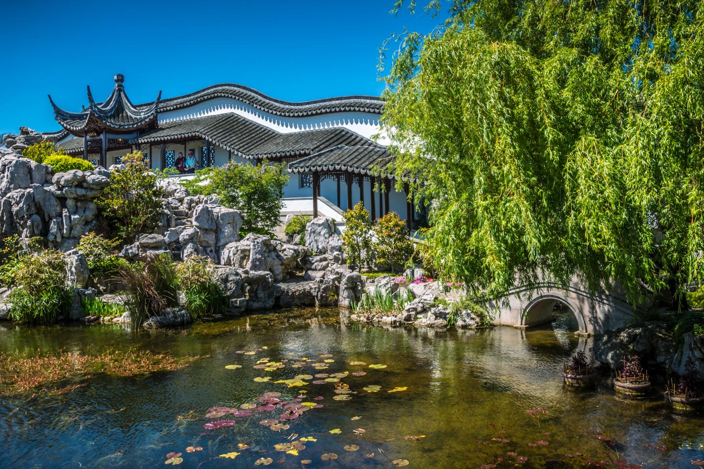Dunedin – Čínská zahrada