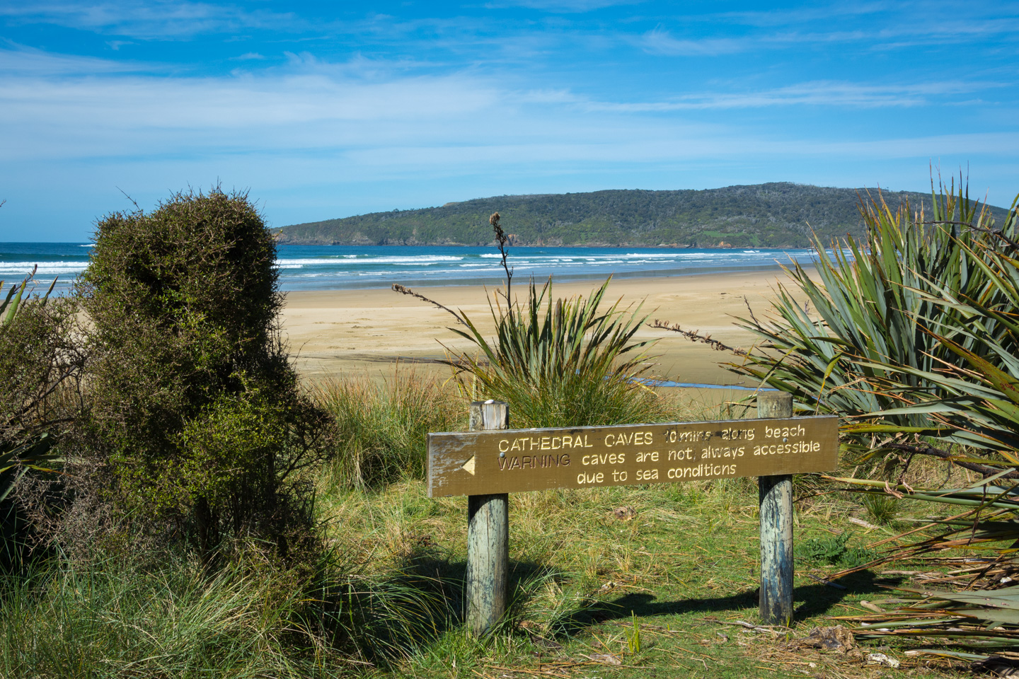 Catlins – Cathedral Caves