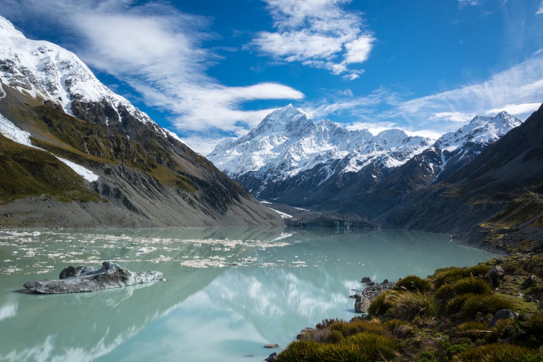 Mt. Cook & Hooker Glacier