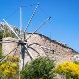 Kréta - větrné mlýny