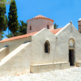 Kréta - byzantský kostel Panagia Kera